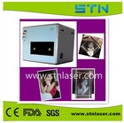 Gifted 3D photo inside crystal mini laser printer engraving machine400*300*100mm