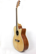 41 inch cutaway acoustic guitar for sell,more about guitar pickupac oustic guitar G-Q41B