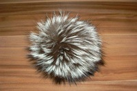 raccoon pompon on hats