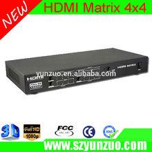 High Quality & Speed HDMI 4X4 HD Matrix