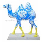 modern frp life size camel sculpture