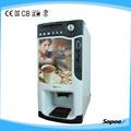 Caliente instantánea de café y té de máquinas expendedoras de fabricante 8703B