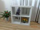 2014 New Design 4 Cube Modern Wood Bookcase/Furniture Wooden Bookshelf/Wooden Book Shelf