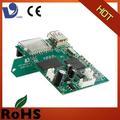 alta qualidade de rádio portátil fm mp5 placa de circuito