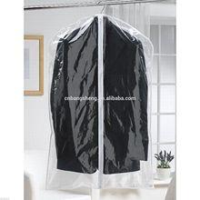 Clear plastic suit garment bag/clear dance garment bags