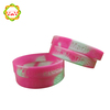 Wholesale Popular Product Elastic Rubber Band Bracelets Silicone Hand band with Logos