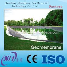 GB or ASTM standard fish pond used black pool liner for water storgage