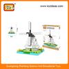 Windmill diamond plastic building blocks toys educational toy (Item No.9363)