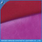 PU fake leather shoe leather leatherette