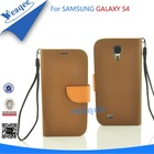 2014 hot sale galaxy s4 flip leather cases