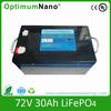 72V 30AH lithium toyota forklift batteries