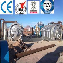 Hot selling! Scrap tire pyrolysis plant/ scrap plastic pyrolysis machine/ waste tires pyrolysis machinery