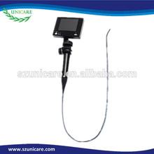 Bronchoscope laryngoscope 3.8mm portable flexible video endoscope camera adapters