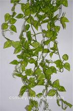Fence Decorative Vine Leaf 12 Branch scindapsus Leaves