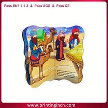 Custom 2012 new design interactive books for children