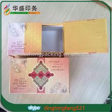 Wholesale high-end mink luxury custom tea gift handmade box
