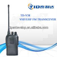 TD-V38 handheld two way radio walkie talkie equipment for umpire