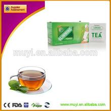 Natural green tea effect loss weight product aloe slimming tea