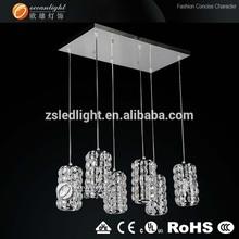 Hanging crystal celling light for living room or kitchen OM88147