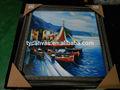 de alta calidad del mar paisaje pintura de la lona del fabricante de china