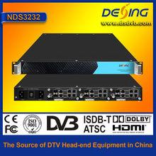 DVB-C modulator ip qam modulator with mux and scrambler