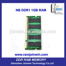 OEM 64mb*8 2x1GB pc2700 ddr laptop memory 2gb