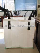 Global Selling 100% New Virgin PP FIBC Big Bulk Bag Jumbo Bag Super Sack Sand Bitumen Rice Flour Bag 500kg 1000kg Made In China