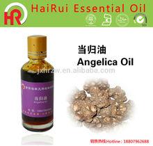 Aangelica root oil extraction