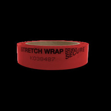 Red, polyester film,Stretch Wrap Secure