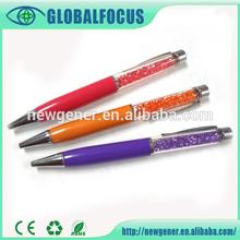 Elegant metal diamond pen for women