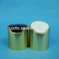20,24,28/410,415 Pharmaceutical Cosmetic Lotion Liquid Bottle Container Closure Press Disc Top Plastic Aluminum Cap