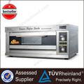 Restaurante os fornos e equipamentos de padaria 1-Layer 2-Tray forno de pizza cones