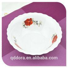 Wholesale cheap Porcelain Soup bowl,High Quality ceramic bowl,ceramic flower bowl wholesale