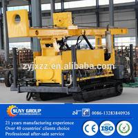 Manual water hydraulic core drilling rig machine