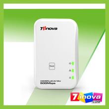 Competitive price 500m homeplug av plc modem no software installation