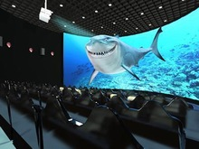 2014 best seller cinema chairs 4d with 12 seats hydraulic