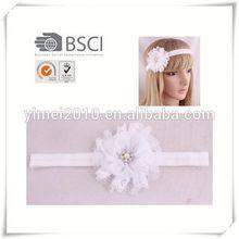 custom knit headband flower