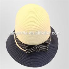 promotion children summer paper straw hats/children beach hat