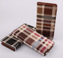 Super quality hot sell PU Unisex Fashion and trendy thin nylon wallet