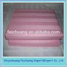 100% Cotton Hotel 300 Tc Stripe Bedding Fabric