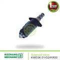 Garantía de 3 meses solenoide de la KWE5K-31 / G24YA50 control hidráulico de la válvula símbolo para maquinaria de ingeniería