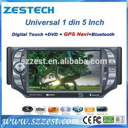 ZESTECH DVD Factory OEM 5 inch 1 din touch screen Car radio