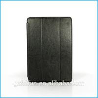 "Leather slim book folio case for lenovo A7600 10.1""-Black"