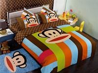new arrival hot sale adult cartoon bedding set with decorative carpet MS-107