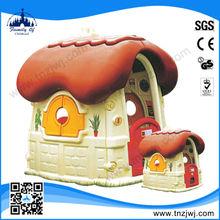 2014 popular mushroom style plastic houses children garden
