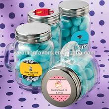 Personalized Celebration Glass Mason Jars