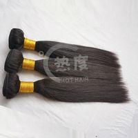 6A grade malaysian hair straight weave bundles,cheap malaysian hair wet and wavy