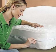 180 TC Easy To Wash Waterproof Mattress Cover With Zipper