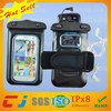 Armband pvc mobile Phone Waterproof bag for samsung galaxy with earphone