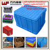 China OEM Custom plastic injection bin crate mould/Newly design plastic injection mould for bin crate with cover